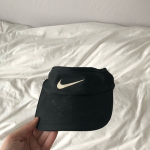 nike black visor